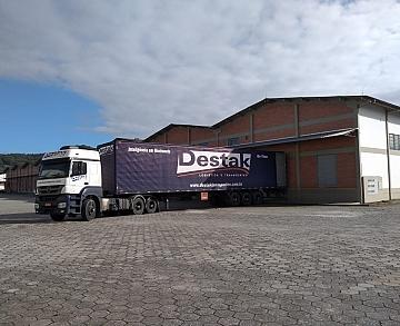 Destak Transportes em Itajaí/SC