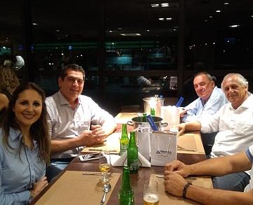 Reunião com Representantes Comerciais