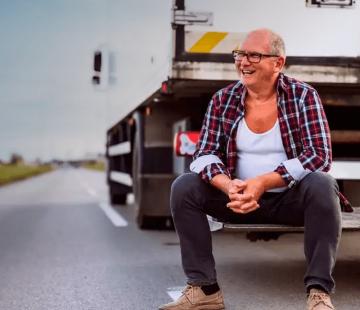 Cuidados essenciais para manter a saúde do caminhoneiro