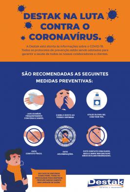 Destak na Luta Contra o Coronavírus
