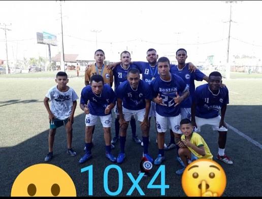 Equipe Destak Palhoça vence campeonato de futebol society