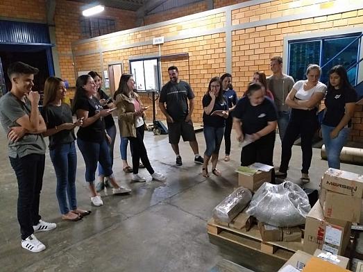 Visita técnica na unidade de Canoinhas